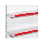 PORTE ETIQUETTE PVC ROUGE 200PCS/CTN