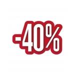 AFFICHE -40% 30X24.5